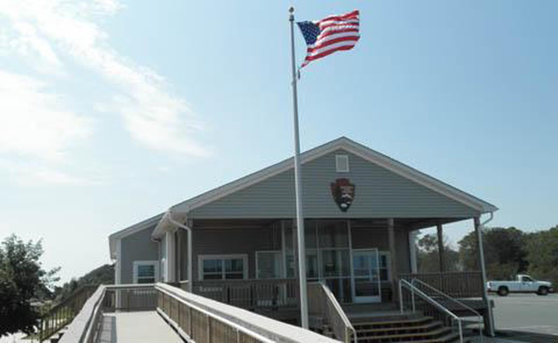 Ranger Station and Campground OfficeRanger Station and Campground Office Exterior View