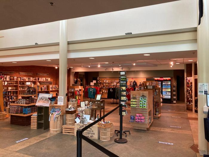 A Book is Worth 1000 WordsWhether you are looking for a historic volume or cool drink, the America's National Park's bookstore has got you covered.