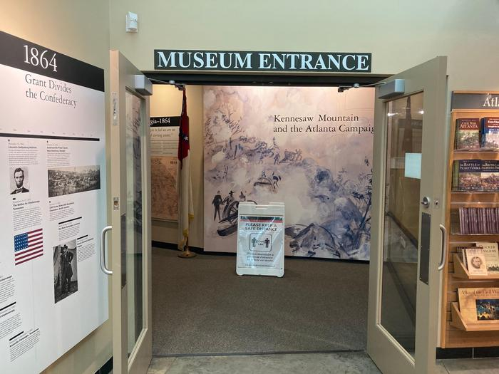 See HIstory Up CloseKennesaw Mountain's museum is perfect for the visitor that wants to go the extra mile for their visit.