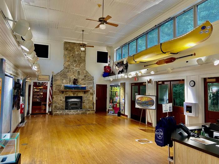 Bandy Creek Visitor Center Interior