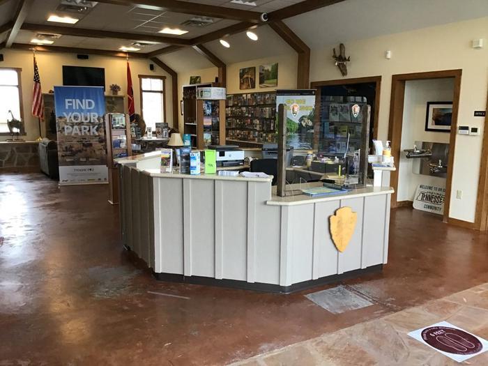 Crossville Visitor Center Interior