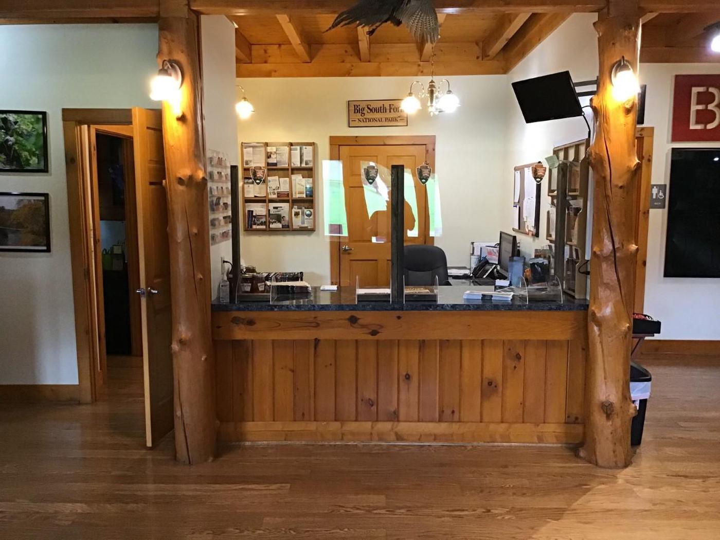 Helenwood Visitor Center Interior