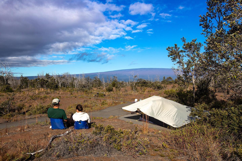 Kulanaokuiki CampgroundKualanaokuiki Campground on the slopes of Kīlauea