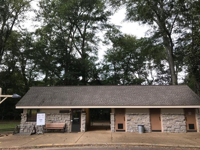 Exterior of Mount Locust Information CenterExterior of the Mount Locust Information Center.