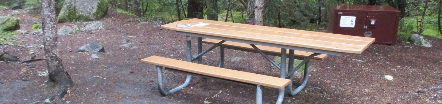 Picnic Table and Bearbox