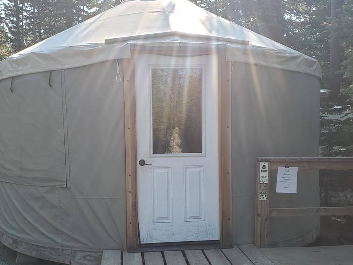 """8Yurt 8 """"Gunsight Yurt"""""""