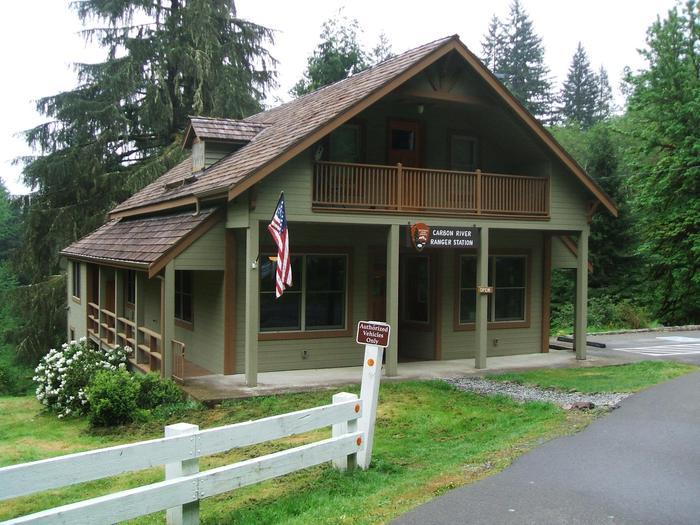 Carbon River Ranger StationThe Carbon River Ranger Station is the only ranger station in the Northwest corner of the park.
