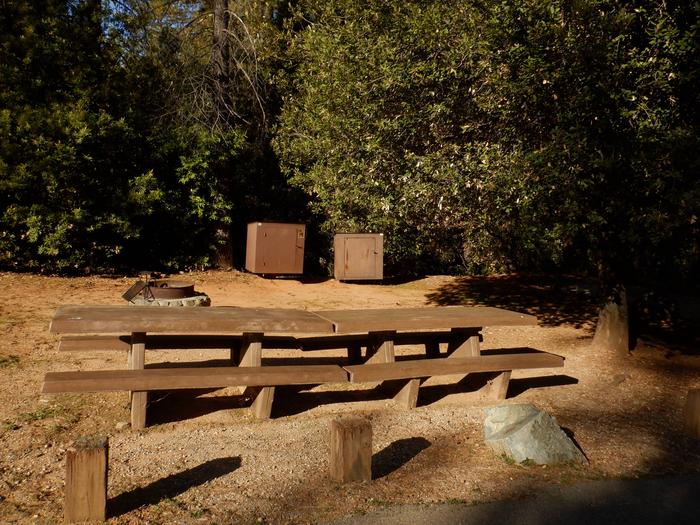 Site 14DTables, Fire Ring and Bear Boxes