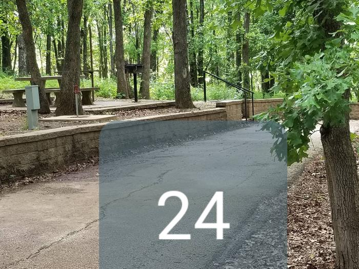 Mound Valley Site # 24 30 amp