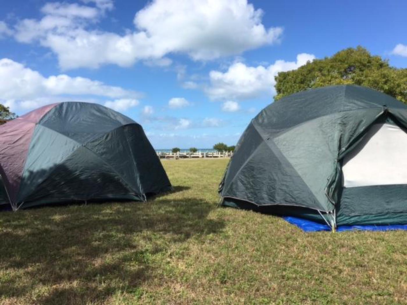 Camping on Elliott Key