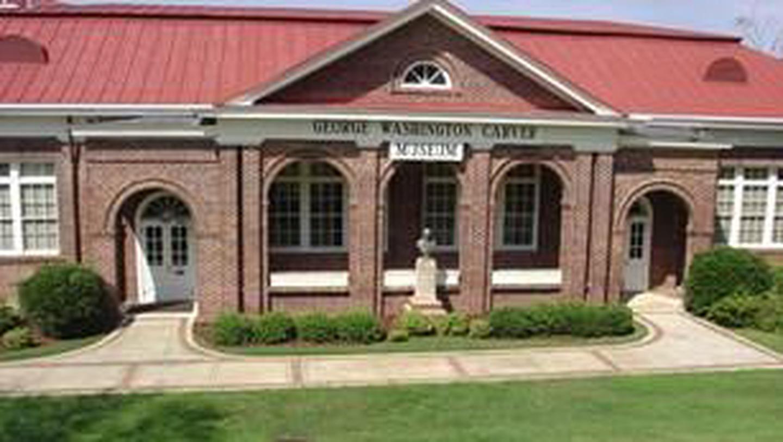 George Washington Carver MuseumFront side of the George Washington Carver Museum