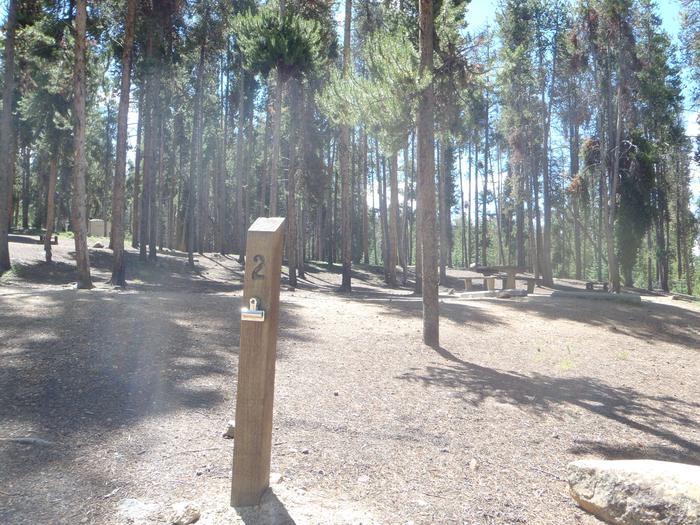 Baby Doe Campground, Site 2 marker 2