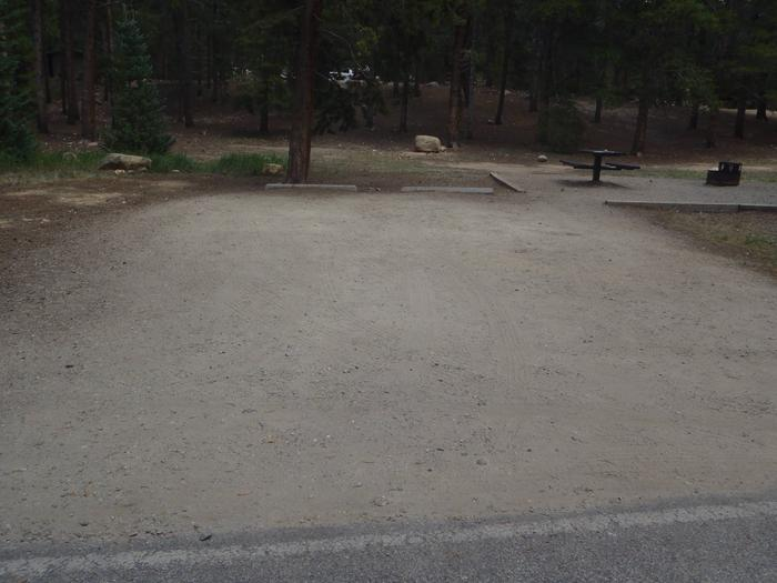 Baby Doe Campground, site 9 parking