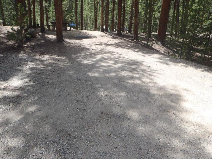 Father Dyer Campground, Site 15 parking