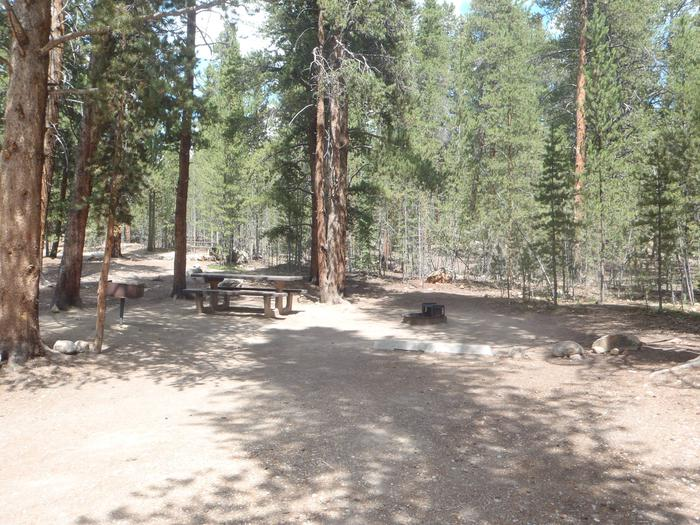 Father Dyer Campground, Site 20 parking