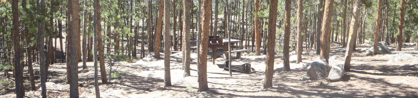 Lakeview Campground, site A13