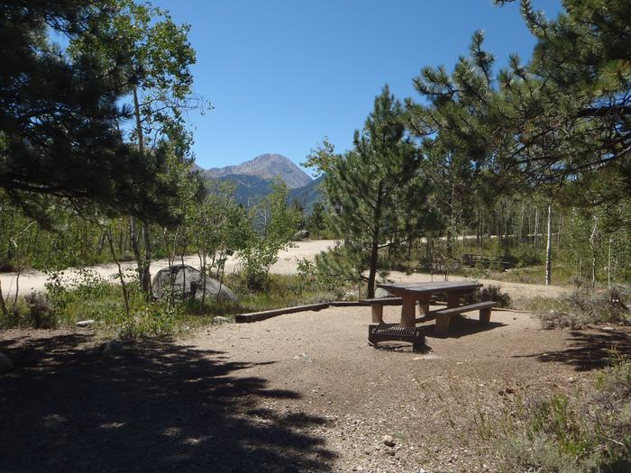 Lakeview Campground, site D3 view