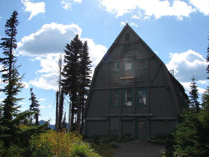 Paradise Wilderness Information CenterParadise Wilderness Information Center on a summer day.