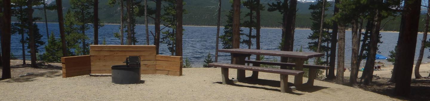 Molly Brown Campground, site 6