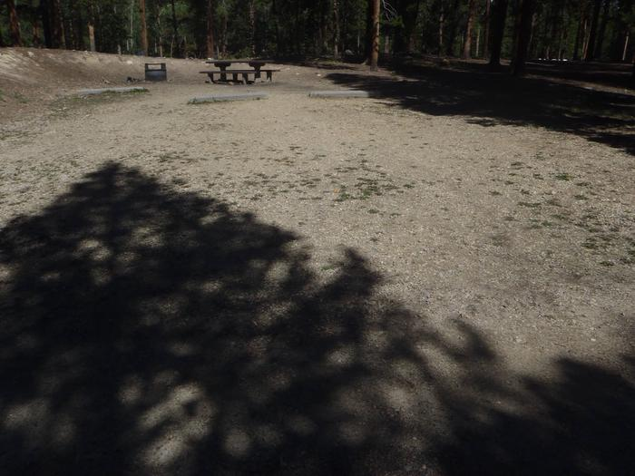 Molly Brown Campground, site 19 parking 2