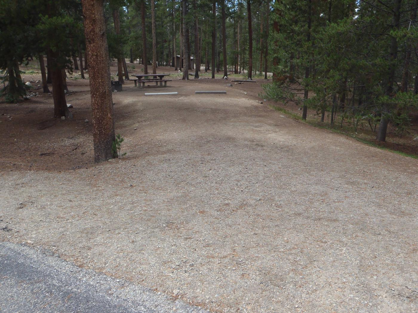 Molly Brown Campground, site 24 parking 5