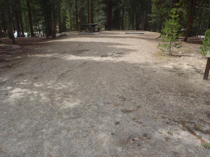 Molly Brown Campground, site 26 parking 4