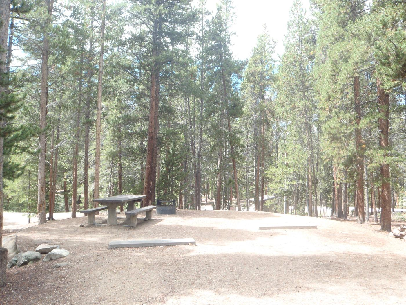 Molly Brown Campground, site 26 parking 5