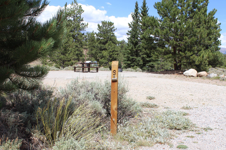 White Star Campground, site 9 marker 2