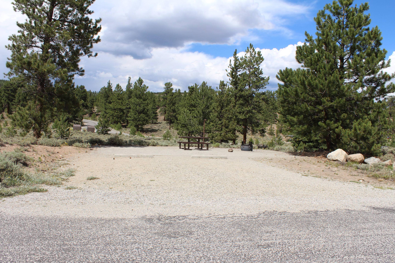 White Star Campground, site 9 parking 2