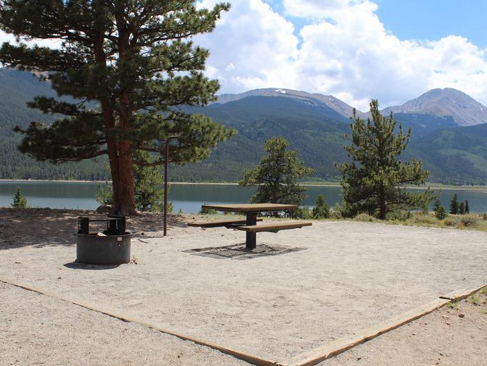 White Star Campground, site 10