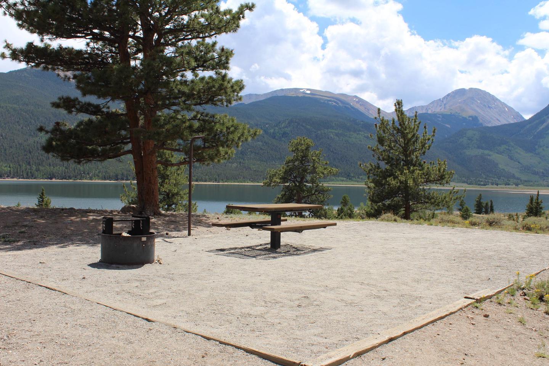 White Star Campground, site 10 parking 2