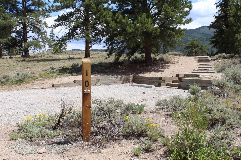 White Star Campground, site 10 marker 2