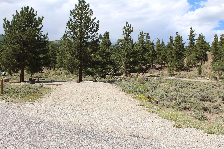 White Star Campground, site 13 parking