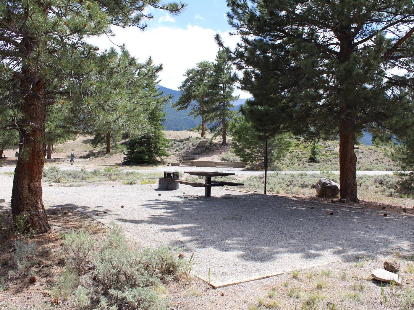White Star Campground, site 13