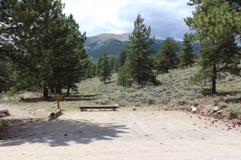 White Star Campground, site 64 parkingWhite Star Campground, site 64 parkin
