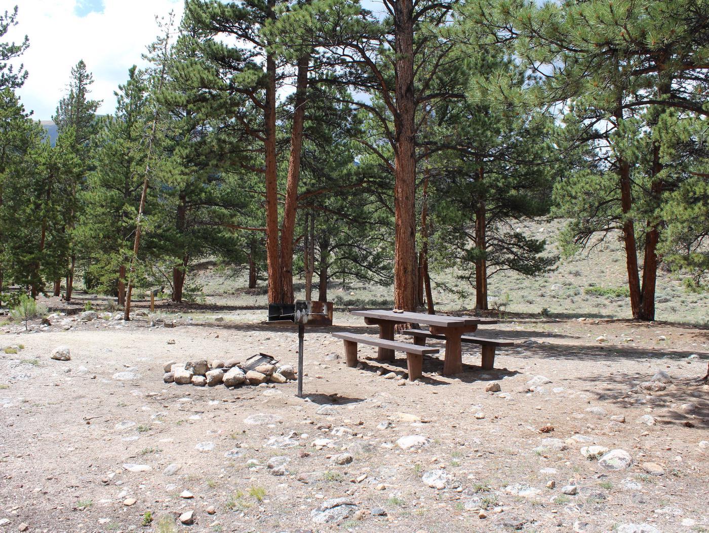 White Star Campground, site 64