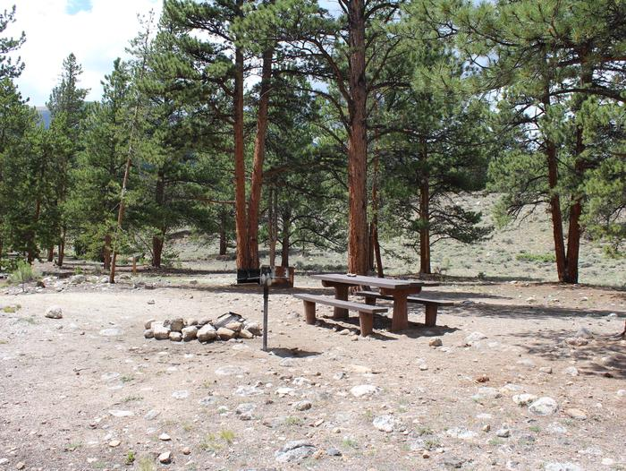 White Star Campground, site 64