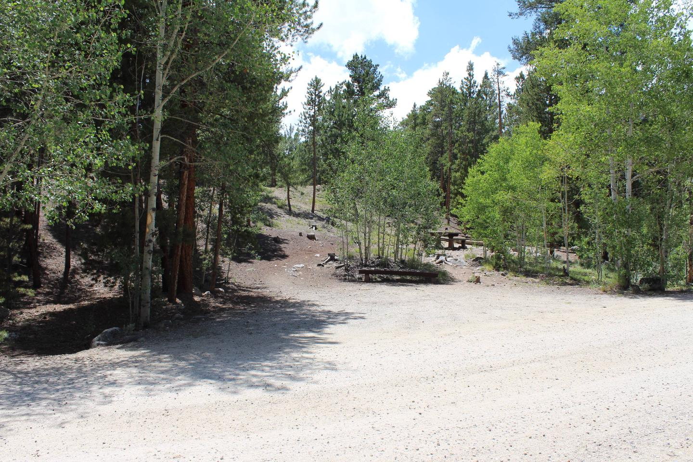 White Star Campground, site 66 parking 2