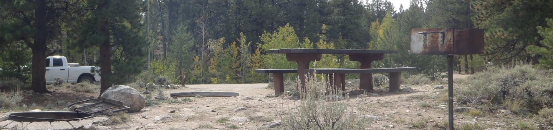 White Star Campground, site 47