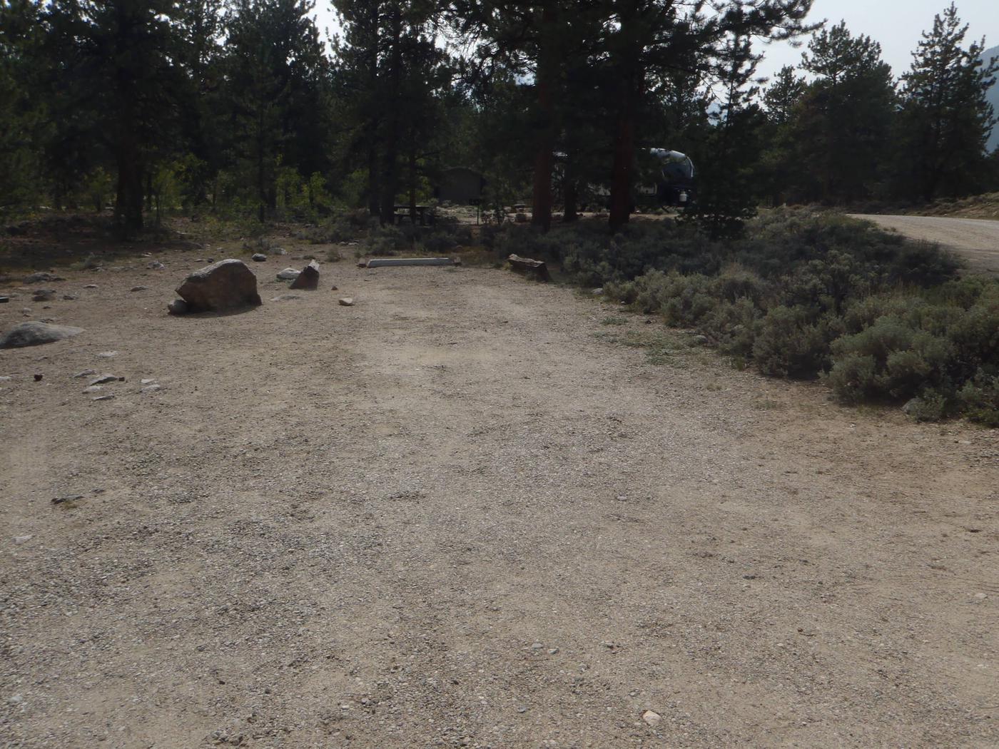 White Star Campground, site 61 parker