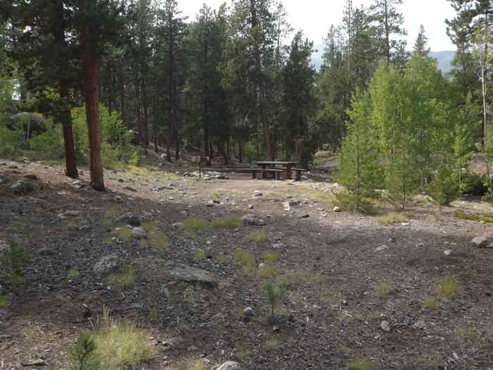 White Star Campground, site 65