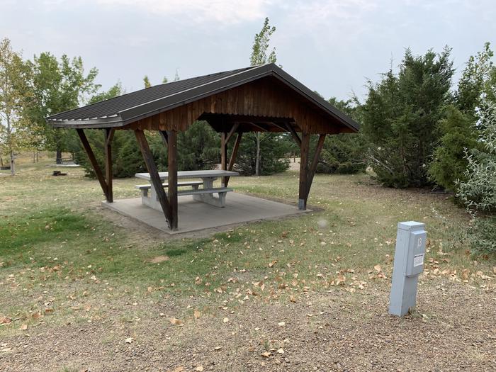 Campsite 13 ShelterCampsite 13 Shelter