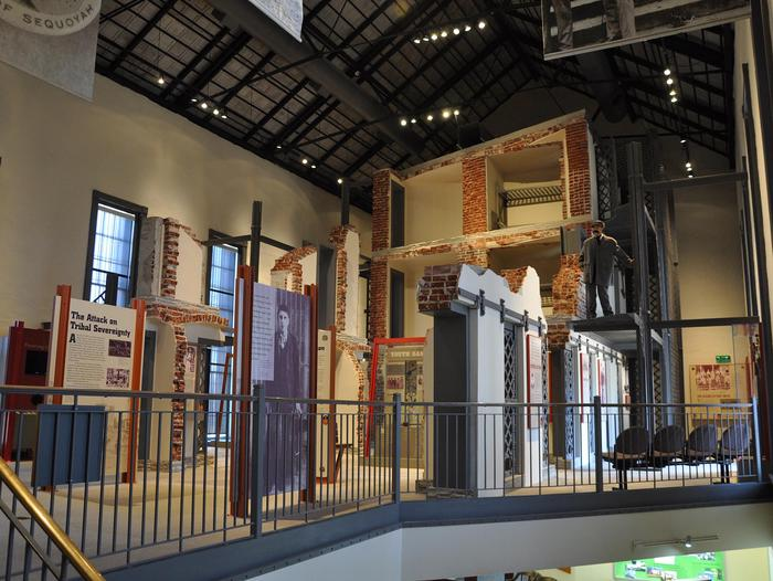 Second Floor ExhibitsSecond Jail Exhibits