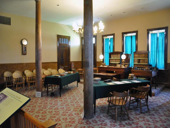 CourtroomRefurbished historic courtroom