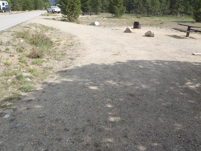 May Queen Campground, site 12 parking 2