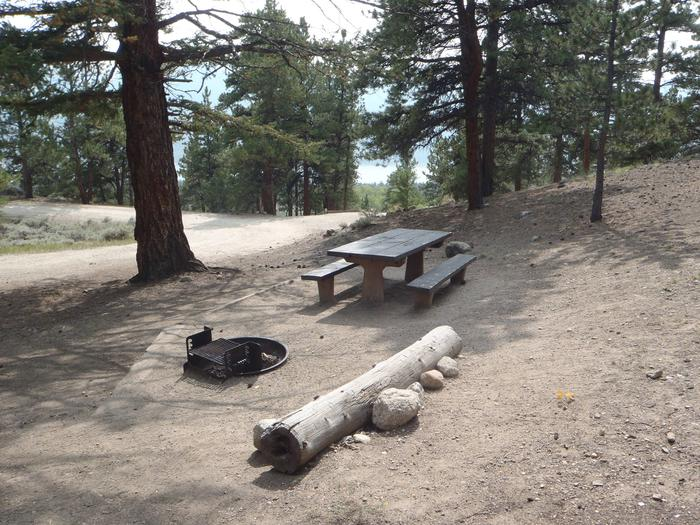 Lakeview Campground, site F5