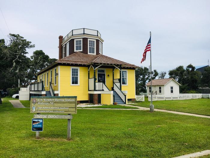 Hatteras Island Weather Bureau StationUS Weather Bureau Station, Hatteras Island