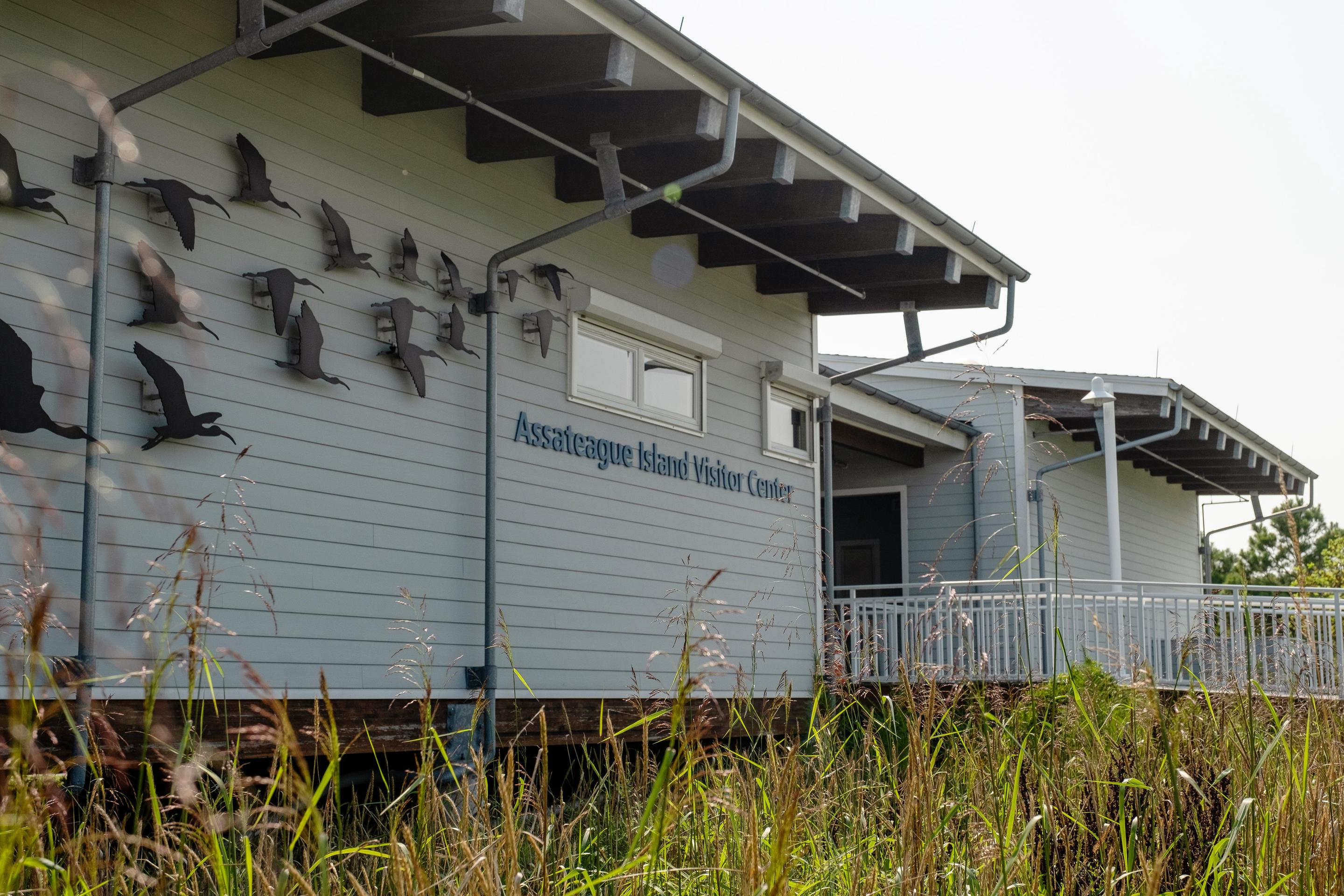 MD VC ExteriorThe exterior view of the Assateague Island Visitor Center
