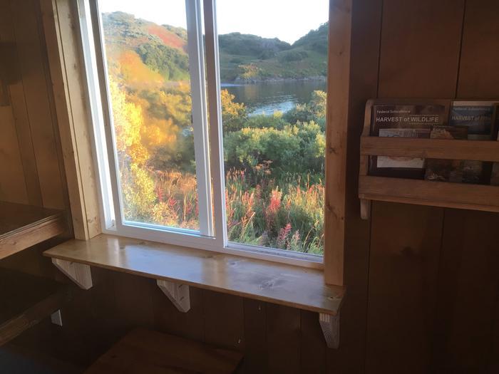 Window sill coffee table