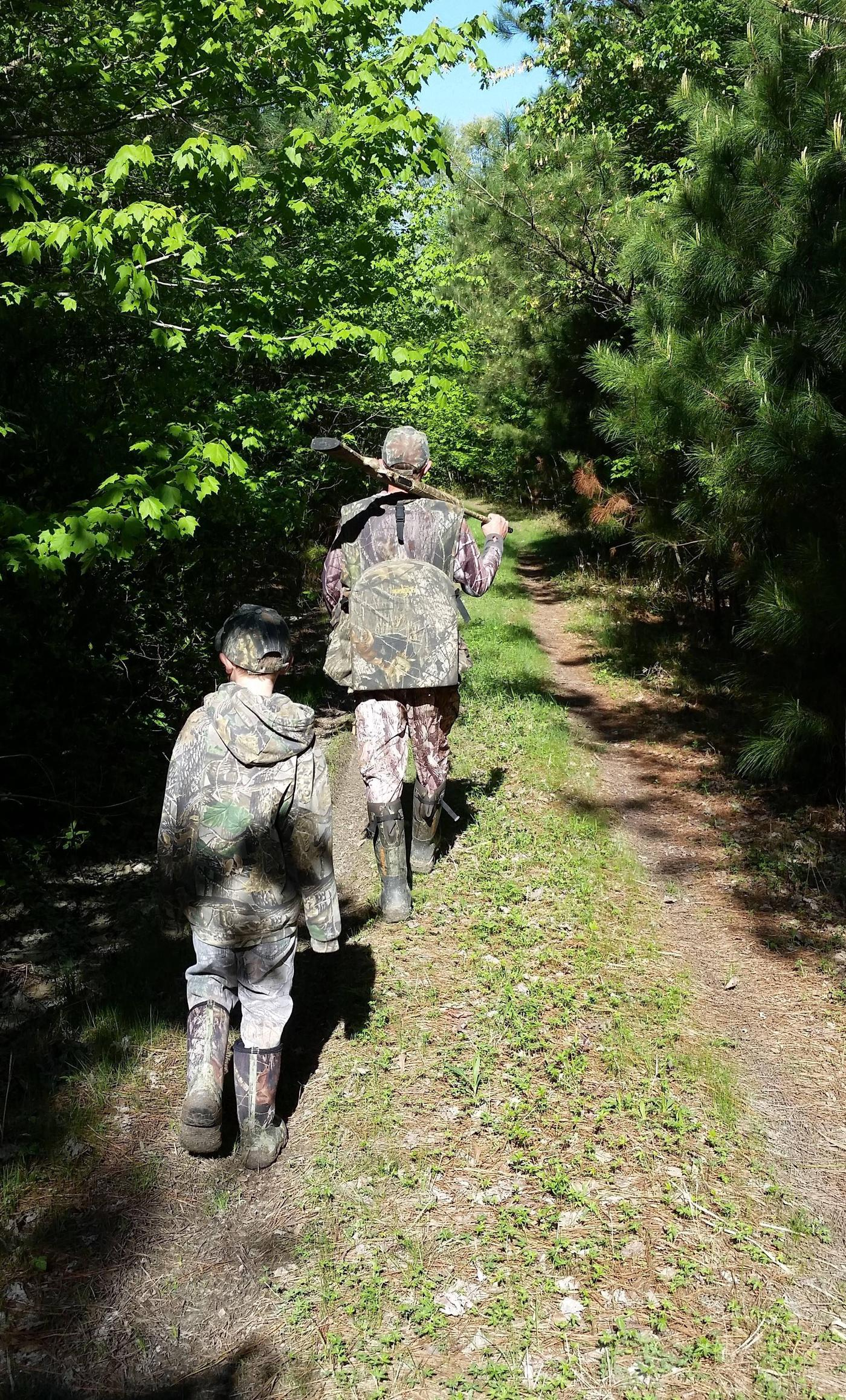 Family Turkey Hunting